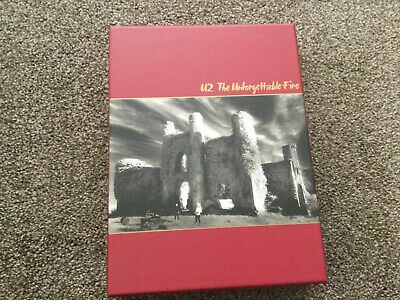 U2 The Unforgettable Fire Remastered Ltd Edition Book CD DVD & Photo Prints 2009 • 18£