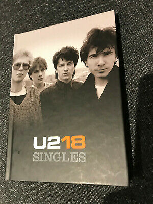U2 18 Singles Ltd Edition Book, CD And DVD 2006 • 11£