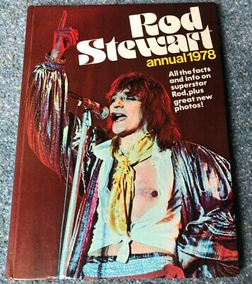 Rod Stewart Annual, 1978. Some Damage To Spine But Otherwise GC. • 3£