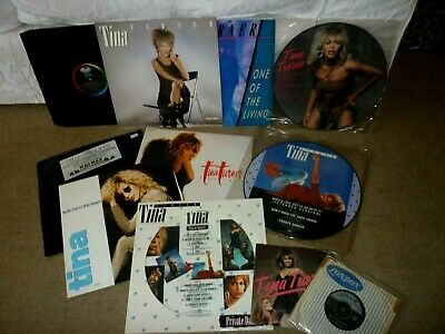 Tina Turner LP's, 12  & 7  Vinyl's-Various Songs Etc-Including Some Picture Disc • 25£