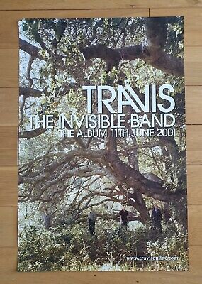 Travis The Invisible Band Promotional Posters Ultra Rare • 29.95£