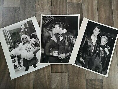 Official Press/Promo Photo Bundle Of EDDIE KIDD- Circa 1988 • 8£