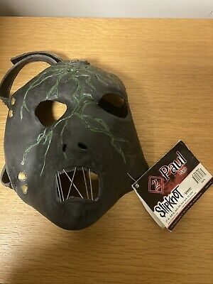 Paul Grey Slipknot Mask Licensed 2007 With Tags • 55£