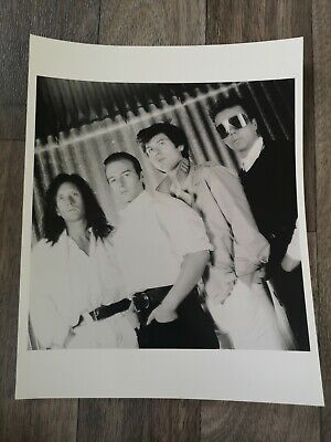 Official Press/Promo Photo Of ULTRAVOX Circa 80s • 8.50£
