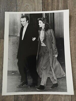 Official Press Photo- MIDGE URE (ULTRAVOX) Attending Princess Diana's Party 1985 • 9.99£
