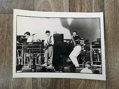 Official Press/Promo Photo Of ULTRAVOX Performing Circa 1980s • 8.50£