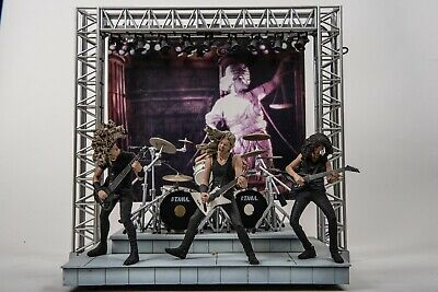 Metallica Figures In Stage Set With Lights And Sound ...and Justice For All • 100£