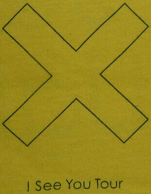 The Xx I See You Tour Crew T-shirt, Yellow, Large L • 9.99£