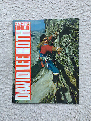 David Lee Roth Skyscraper Tour Programme In • 10£