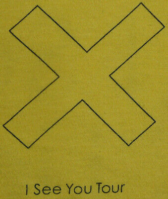 The Xx I See You Tour Crew T-shirt, Yellow, Extra-large XL • 9.99£