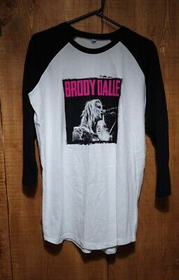 Brody Dalle Baseball Style Long Sleeved T-Shirt -L • 4.99£