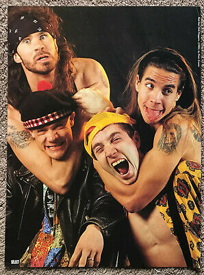 RED HOT CHILI PEPPERS - 1990s Full Page UK Magazine Poster • 3.95£