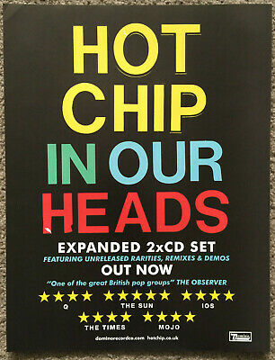HOT CHIP - IN OUR HEADS 2012 Full Page UK Magazine Ad • 3.95£
