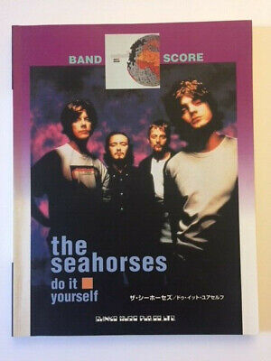 Seahorses Do It Yourself Japanese Band Score Song Book Stone Roses John Squire • 15£
