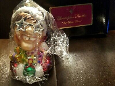 Rare Limited Edition Radko Sir Elton John Christmas Ornament  Mint In Black Box  • 132.32£