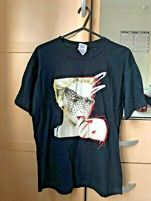 Kylie 2008 Black Tour T-shirt Size L Youth • 9.99£