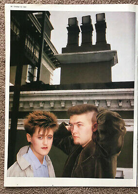 EVERYTHING BUT THE GIRL ~ 1984 Full Page UK Magazine Poster • 3.95£