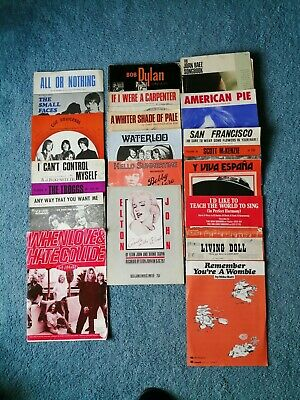 Selection Of Mainly 60,s Song Books And Sheet Music • 25£