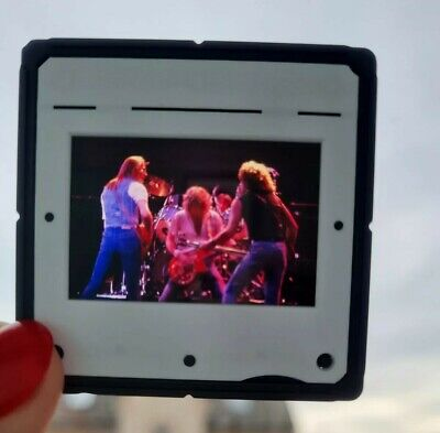 STATUS QUO Transparency Slide - Performing In Concert Circa Late 70s • 7£