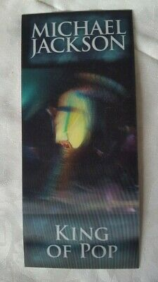 Michael Jackson This Is It 02 Arena Concert Tickets Lenticular Hollographic • 19.99£