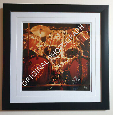 Unique Opportunity To Own 3 RUSH Signed Photographs, Each With COA • 2,595£