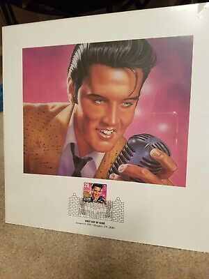 Elvis Presley  First Day Of Issue Stamp Collection. • 40£