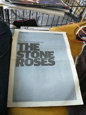 The Stone Roses Songbook The Observer Pull Out 2008 Sheet Music 24 Pages • 2.99£