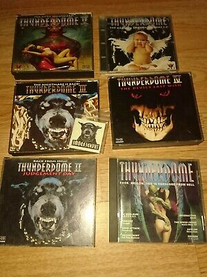 Rave Cds Hardcore Gabber Techno Old-school Rotterdam Thunderdome  • 35£