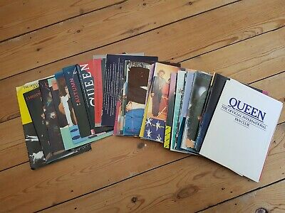 Queen Fan Club Magazines...from Summer '82 To Summer '94 • 30£