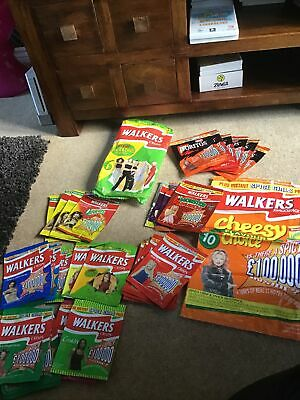 All 31 SPICE GIRLS Walkers/Doritos Crisp Packets From 1997 • 60£