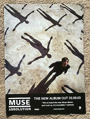MUSE - ABSOLUTION 2003 Full Page UK Magazine Ad • 3.95£