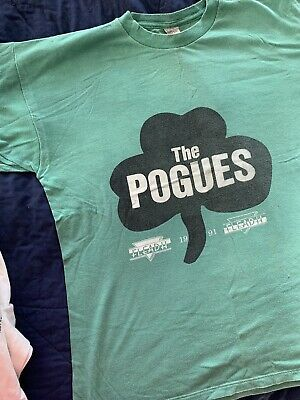 Rare Pogues T Shirt From 1991 • 20£