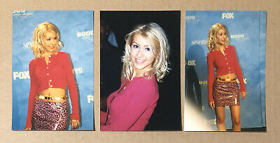 1999 Christina Aguilera Teen Choice Awards Red Carpet Photo Lot: Genie In Bottle • 3.58£