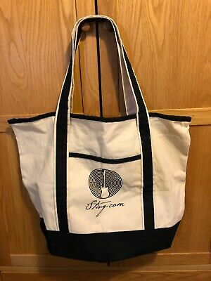 Sting Fan Club Only Tote Bag • 20£