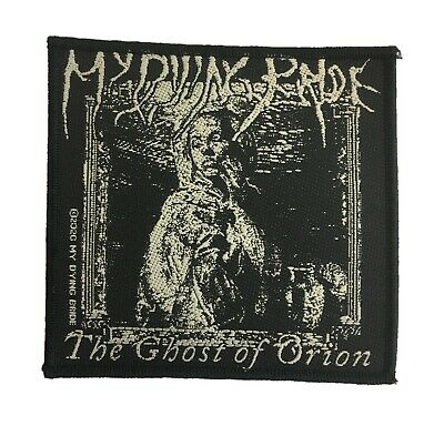 My Dying Bride Standard Patch The Ghost Of Orion Woodcut • 5£