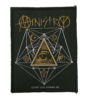 Ministry Standard Patch All Seeing Eye • 5£