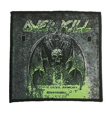 Overkill Standard Patch White Devil Armoury  • 5£