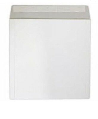 25 7   Strong White Record  Peel And Seal  Mailers / Envelopes Free P+p • 7.67£