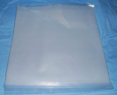 100 7  PLASTIC POLYTHENE RECORD SLEEVES / COVERS 450G For 45rpm SIngles +FREEDEL • 7.59£