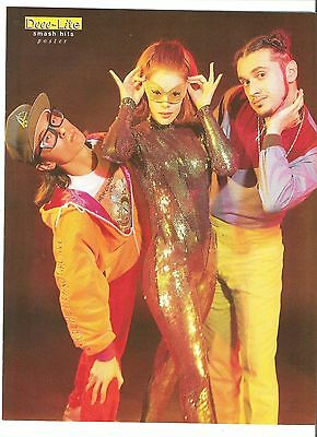 DEEE-LITE Catwoman Magazine PHOTO/Poster/clipping 11x8 Inches • 5.95£