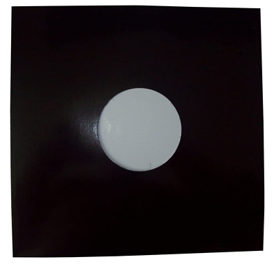 50 12  Black Card Record Sleeves Covers / Disco Bags *new+free Uk P&p* • 16.89£