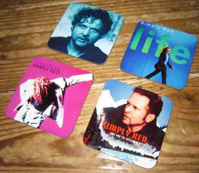 Simply Red Mick Hucknall Album Cover COASTER Set #2 • 7.99£