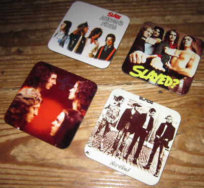 Slade Album Cover COASTER Set • 7.99£