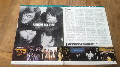 The DOORS 'albums' ARTICLE / Clipping • 9.95£