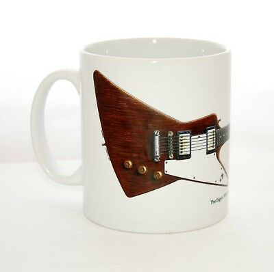 Guitar Mug. The Edge's Gibson Explorer • 14.99£