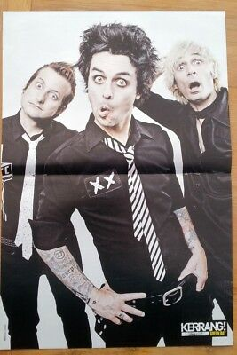 GREEN DAY 'striped Tie' Centerfold Magazine POSTER 17x11 Inches • 14.95£
