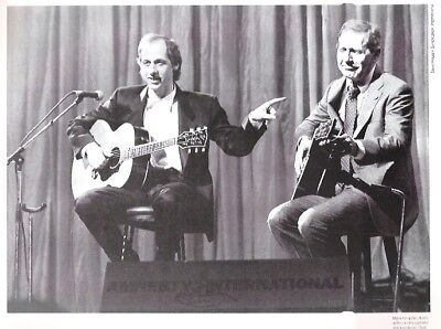 MARK KNOPFLER & CHET ATKINS Magazine PHOTO/Poster/clipping 9x7  Inches • 5.95£