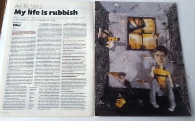 BLUR '13' Album Review And Interview 1999 ARTICLE / Clipping • 9.95£