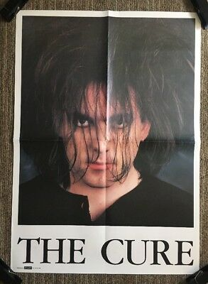 Original Vintage Poster The Cure Robert Smith 1980's Pin-up 80's Retro Headshot • 67.50£