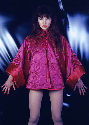 Kate Bush Awesome New Colour Red Quilt POSTER • 5.99£